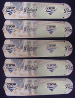 """New MLB SAN DIEGO PADRES 52"""" Ceiling Fan BLADES ONLY"""