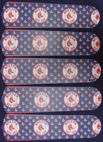 "New MLB BOSTON RED SOX 52"" Ceiling Fan BLADES ONLY"