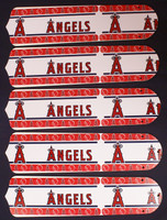 "New MLB ANAHEIM ANGELS 52"" Ceiling Fan BLADES ONLY"