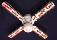 New MLB SAN FRANCISCO GIANTS BASEBALL Ceiling Fan 42""