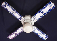 New MLB L.A. DODGERS BASEBALL Ceiling Fan 42""