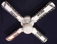 New MLB CHICAGO WHITE SOX BASEBALL Ceiling Fan 42""