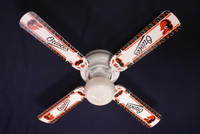 New MLB BALTIMORE ORIOLES BASEBALL Ceiling Fan 42""