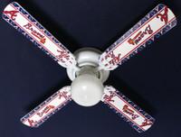 """New MLB ATLANTA BRAVES BASEBALL Ceiling Fan 42"""""""