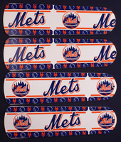 "New MLB NEW YORK METS 42"" Ceiling Fan BLADES ONLY"