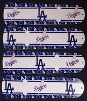 "New MLB L.A. DODGERS 42"" Ceiling Fan BLADES ONLY"