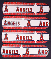 "New MLB ANAHEIM ANGELS 42"" Ceiling Fan BLADES ONLY"