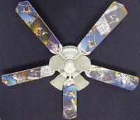 """New RADICAL SKATEBOARD SKATEBOARDING Ceiling Fan 52"""""""