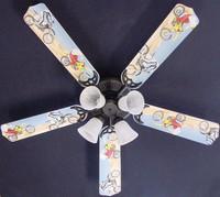"""New MOTOCROSS DIRT BIKE MOTORCYCLE Ceiling Fan 52"""""""