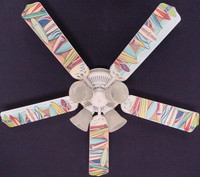 New HAWAIIAN SURFBOARDS SURF BOARD Ceiling Fan 52""