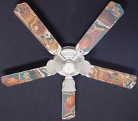 "New CLASSIC SPORTS Ceiling Fan 52"""