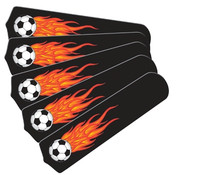 """New HOT SOCCER BALLS SPORTS 52"""" Ceiling Fan BLADES ONLY"""