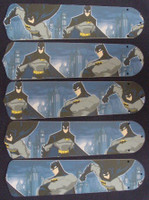 "New BATMAN SUPERHERO 52"" Ceiling Fan BLADES ONLY"