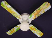 """New DINOSAUR DINOSAURS T-REX JURASSIC Ceiling Fan 42"""""""