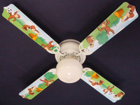 New CURIOUS GEORGE MONKEY Ceiling Fan 42""