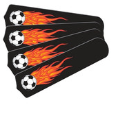 """New HOT SOCCER BALLS SPORTS 42"""" Ceiling Fan BLADES ONLY"""