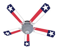 New TEXAS STATE FLAG LONE STAR Ceiling Fan 52""