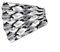 "New CAMOFLAUGE CAMO SNOW BLACK & WHITE 42"" Ceiling Fan BLADES ONLY"