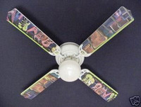 New ROCK N ROLL ELECTRIC GUITAR Ceiling Fan 42""