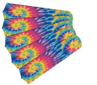 "New PSYCHEDELIC TYE DYE 52"" Ceiling Fan BLADES ONLY"