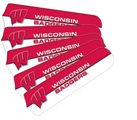 "New NCAA WISCONSIN BADGERS 42"" Ceiling Fan Blade Set"