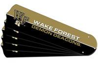 "New NCAA WAKE FOREST DEMON DEACONS 42"" Ceiling Fan Blade Set"