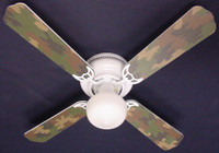 New CAMOFLAUGE CAMO ARMY HUNTERS Ceiling Fan 42""