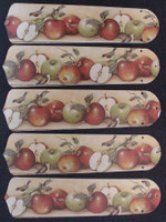 "New APPLES APPLE & BIRDS 52"" Ceiling Fan BLADES ONLY"