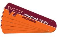 "New NCAA VIRGINIA TECH HOKIES 42"" Ceiling Fan Blade Set"