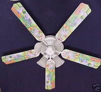 """New WINNIE POOH HEFFALUMP LUMPY EEYORE Ceiling Fan 52"""""""