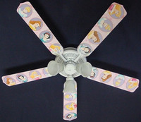 New PRINCESS PRINCESSES Ceiling Fan 52""