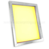 Premium Aluminum 18x20 Screen 300 Yellow Mesh