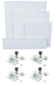 Platen Starter Kit - 4 Platens and 4 Brackets