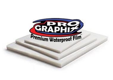 "ProGraphix© Premium Waterproof Inkjet Film - 8.5""x11"""