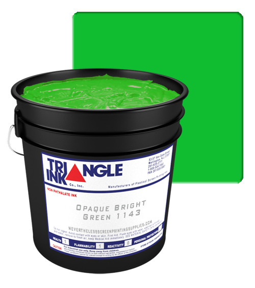 Triangle Plastisol Ink - Op  Bright Green