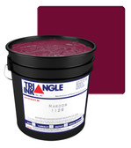 TRIFLEX1129 - Maroon Triangle Ink