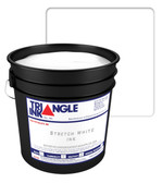Triangle Plastisol Ink - Stretch White STRC-001