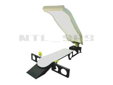 Silk Skates© Premium Skateboard Screen Printing Press - custom curved screen not included