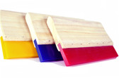 70 DURO YELLOW Econo Wood Handle Squeegee