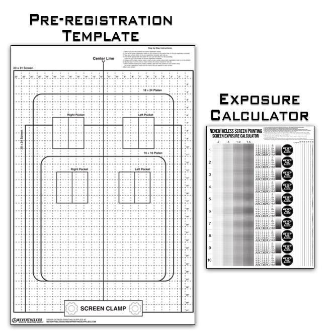 nevertheless screen printing supplies exposure calculator