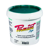 Permaset Aqua Standard Waterbased Ink - Mid Green - 1 Liter