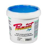 Permaset Aqua Standard Waterbased Ink - Light Blue - 1 Liter