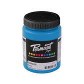 Permaset Aqua Supercover Waterbased Ink - Glow Blue - 300 mL