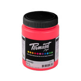 Permaset Aqua Supercover Waterbased Ink - Glow Red - 300 mL