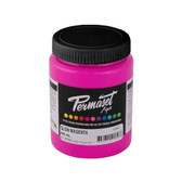 Permaset Aqua Supercover Waterbased Ink - Glow Magenta - 300 mL