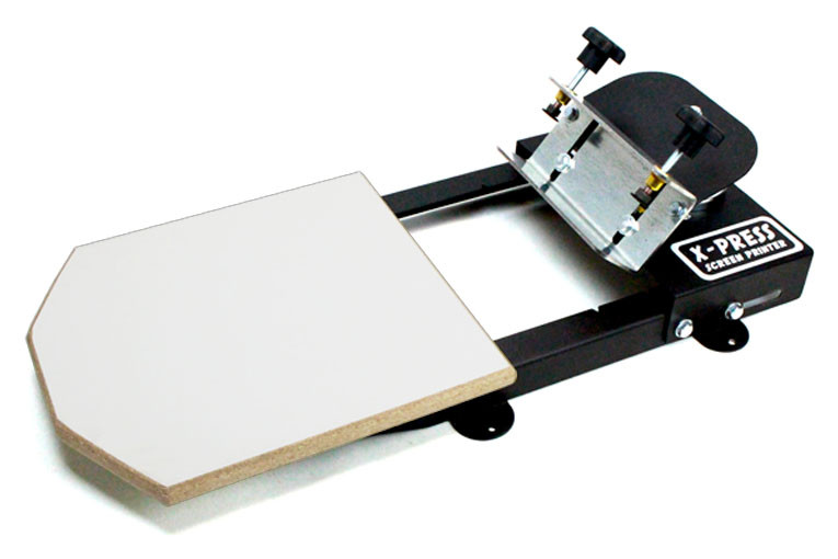 Screen Printing Press 1 Color 1 Station