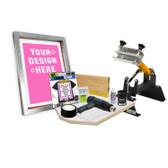 DIY Shocker© Screen Printing Kit with Pre-burned Screen