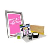 "DIY Bare Bones Kit with ""Print N' Create"" Pre-burned Screen"
