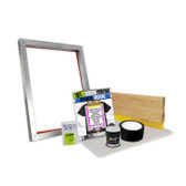 DIY Bare Bones Kit with Blank Screen for DIY Vinyl or Paper Stencil