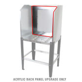 Quick Clean QCX-2432 - ACRYLIC BACK PANEL UPGRADE